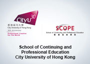 School of Continuing and Professional Education (SCOPE) City University of Hong Kong