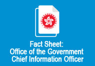 Fact Sheet : Office of the Government Chief Information Officer